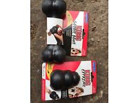 Kong dog toys £12 for both