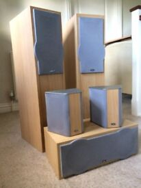 5 Eltax Surround Sound Speakers System