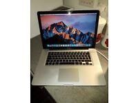 "Macbook pro 15"" (late 2011) i7 8gb ram 500gb hhd"