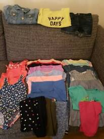 Age 4 Girls Summer Bundle