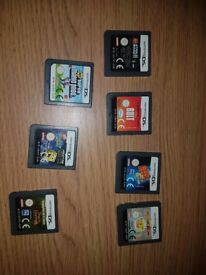 7 Nintendo DS games all in boxes