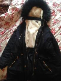 Lovely thick winter coat £30 Ono size 20,22