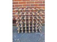 Wooden Wine Rack 36 bottles