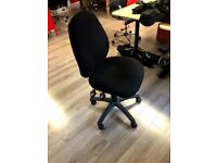 Ergo Desk Chair with free Carpet Protector Mat