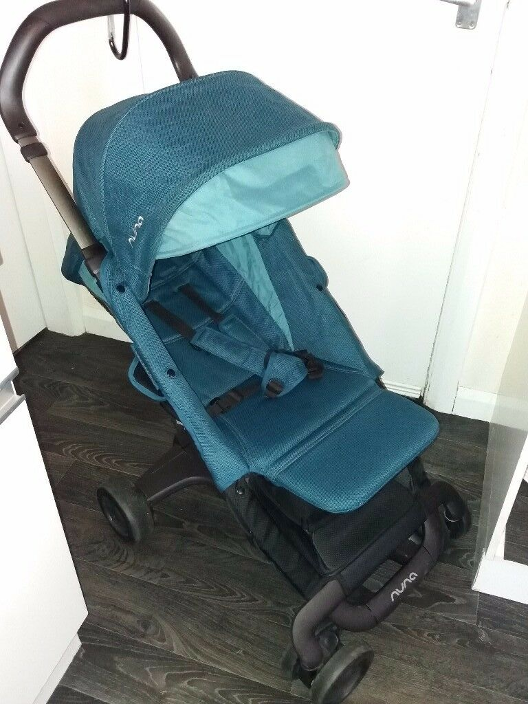 Compact Nuna travel system for sale.