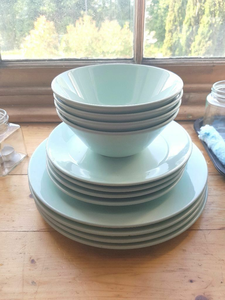 Mint Green Ikea Plates and Bowls Set | in Southville, Bristol | Gumtree