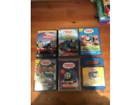 6 Thomas The Tank dvds
