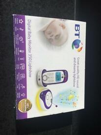 350 baby monitor, 18 lullabies, light show, and speaker.