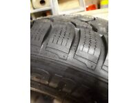 Winter tyres on BMW / Insignia alloy wheels