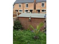 6x8 large wooden garden shed for sale.