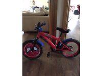 Kids Marvel Spiderman bike 16 inch