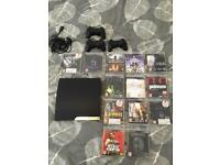 PS3, 13 games and 3 controllers