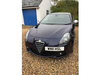 Blue Alfa Romeo Guilietta, 1.6 diesel, manual, 67000 miles, 2 owners, excellent condition