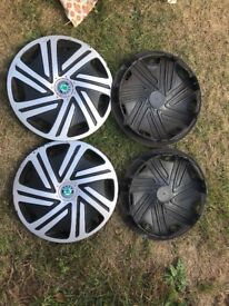 "Wheel covers 14"" used in very good condition"