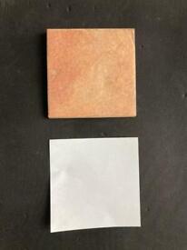 48 tiles - lovely colour 10x10 cms