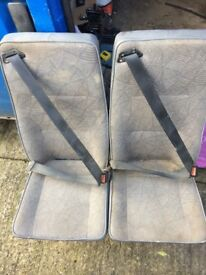 Vans rear seats set of 3