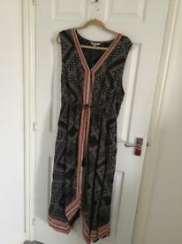 Ladies Maxi Dress Size 16 Peacocks