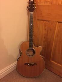 Westone semi acoustic guitar
