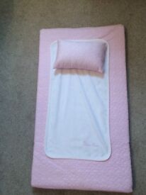Silver cross brand new pink changing mat