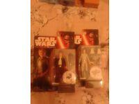 X2 Han Solo & Luke Skywalker Star Wars Force Awakens Action Figures