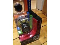 NEW Action Shot video camera with LCD viewer attachment and waterproof case
