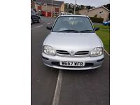 Nissan Micra 1.0 Petrol Silver Full MOT (great runner) **very cheap**