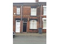 **LET AGREED**2 BEDROOM TERRACE PROPERTY-PINNOX ST-STOKE-ON-TRENT-LOW RENT-DSS ACCEPTED-NO DEPOSIT