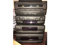 Kenwood stereo stack