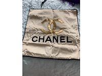 Chanel cushion cover in gold