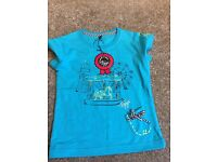 Brand new toggi t-shirt. Girls aged 5-6