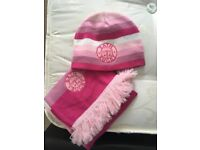 Bath Rugby Hat and Scarf