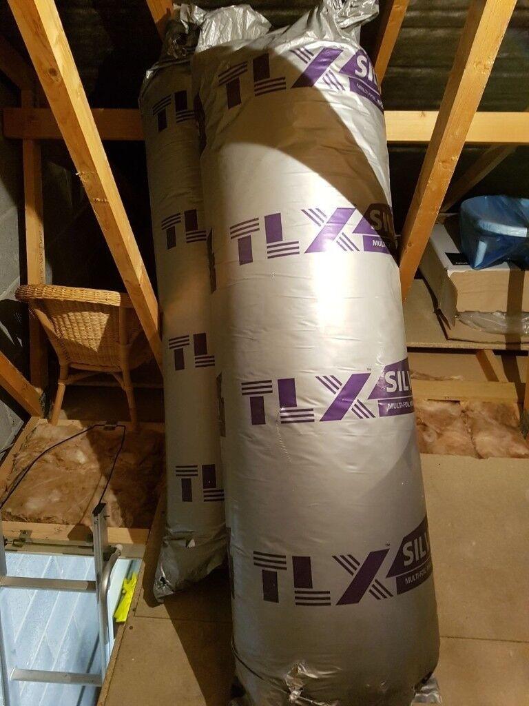TLX silver multi foil insulation 1.2mx10m