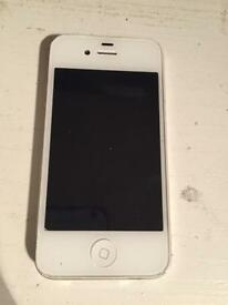 Apple iPhone 4S 16GB in White Locked to EE