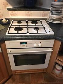 Cooker and hob