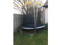 8 Foot Trampoline with safety net