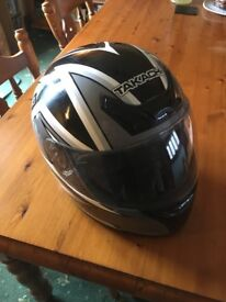 Takachi Large 600 TK-30 motorcycle helmet. In very good condition and never dropped
