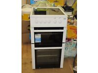 Nearly New BEKO Electric Cooker BDC5422AW