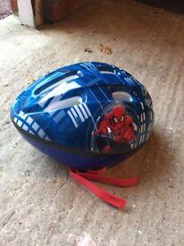 BOYS MARVEL SPIDER-MAN BICYCLE HELMET SIZE 52-56cm