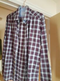 Long Sleeve plaid/checked shirt by Fred Mello of New York