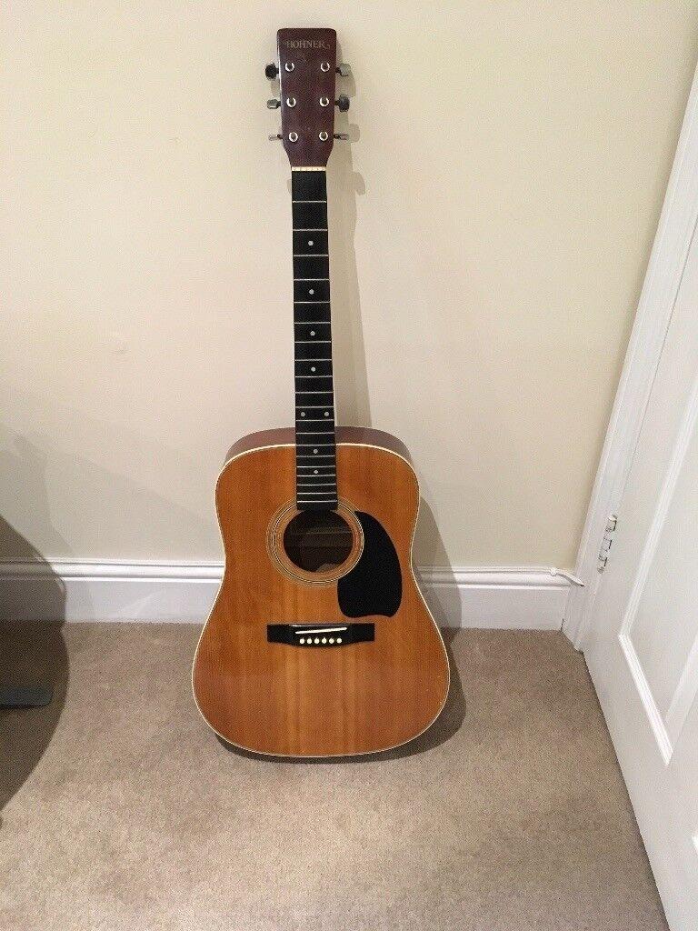 Hohner Arbor 1980s Acoustic Guitar ( LW400N )
