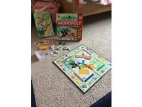Monopoly junior children's game