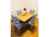 Dining Table and Chairs - Collection Only