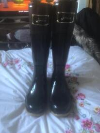 Joules two tone wellies