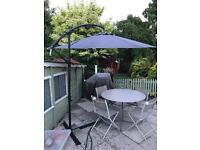 Clas Ohlson Freestanding Parasol Umbrella