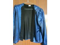Vintage 'Dress Circle' 1980's Style Blue Jacket