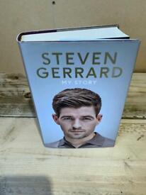Autobiography hardback book