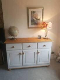 Solid heavy sideboard cupboard dresser