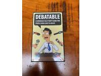 DEBATABLE - party game