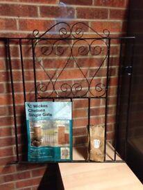 Garden gate new Wickes Chelsea single gate