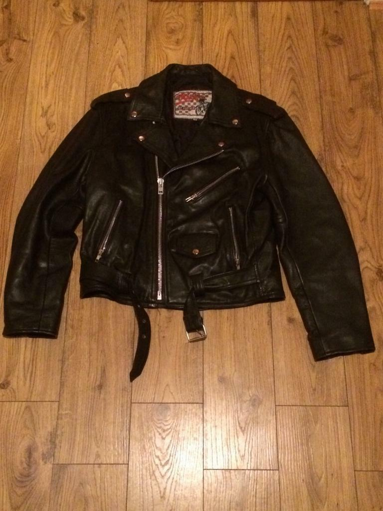 Men's Leather Bike Jacket